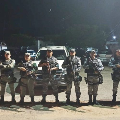 Polícia Militar de Paulistana realiza operação Divisa Segura e reforça policiamento preventivo