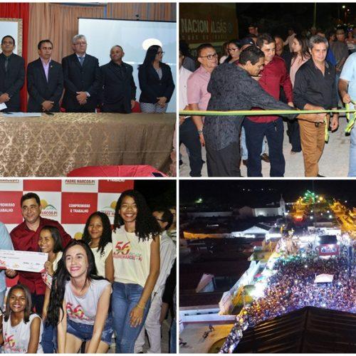 PADRE MARCOS 56 ANOS | Sessão solene, inaugurações e festa encerram as comemorações