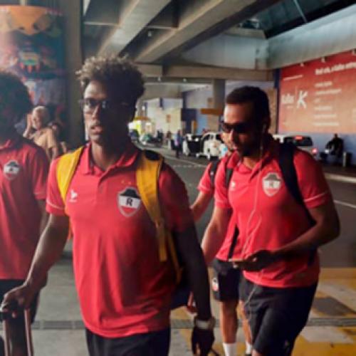 River passa por susto em voo antes da estreia na Copa do Nordeste