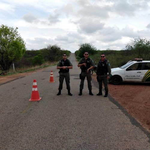 Polícia Militar de Francisco Macedo realiza Operação Férias nas PI´s que cortam o município