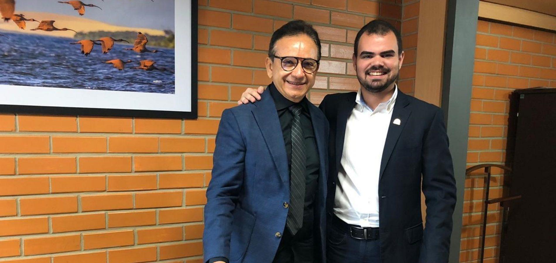 PIO IX | Fanuel se reúne com comando da PM em Teresina e solicita medidas de segurança para Serra da Baraúna