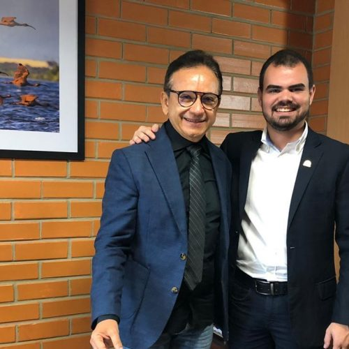PIO IX   Fanuel se reúne com comando da PM em Teresina e solicita medidas de segurança para Serra da Baraúna