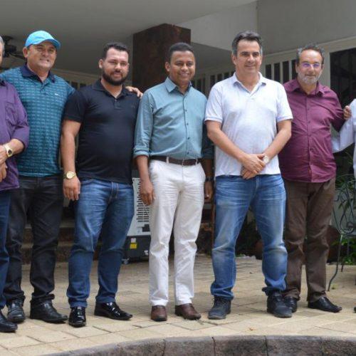 Em audiência com o senador Ciro, prefeito Jorismar e vice Cícero garantem recursos para Alagoinha