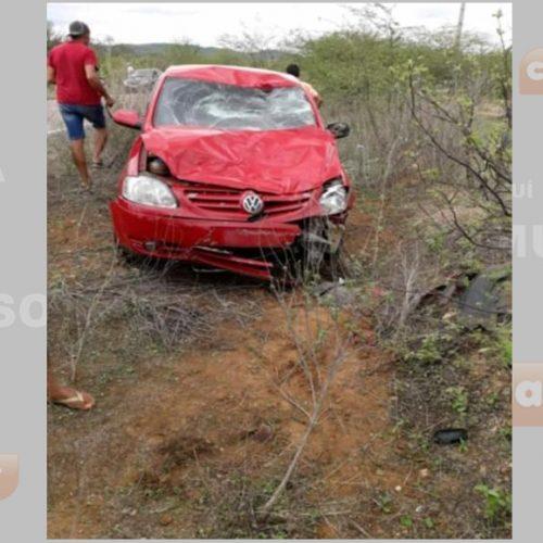 Grave acidente deixa um morto e dois feridos na rodovia entre Fronteiras e Pio IX