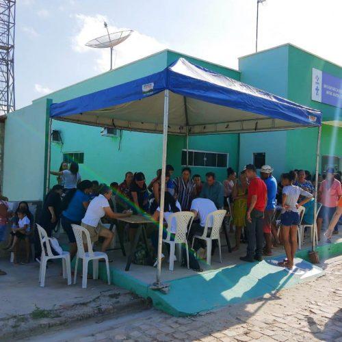 Amigos da Comunidade Itinerante realiza mutirão de saúde em Geminiano