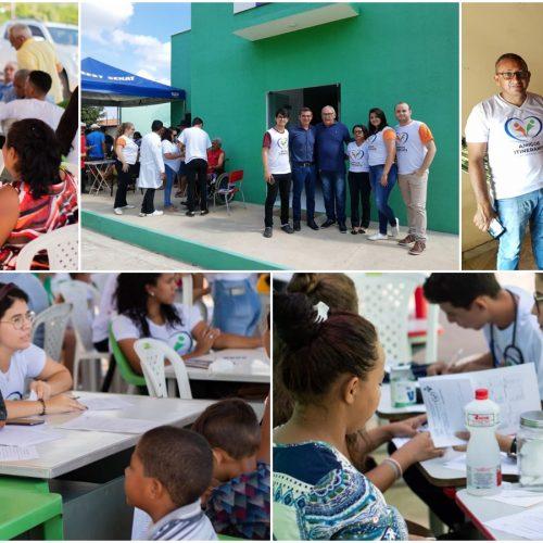 """""""Amigos Itinerantes"""" realizam 2000 atendimentos de saúde em Geminiano"""