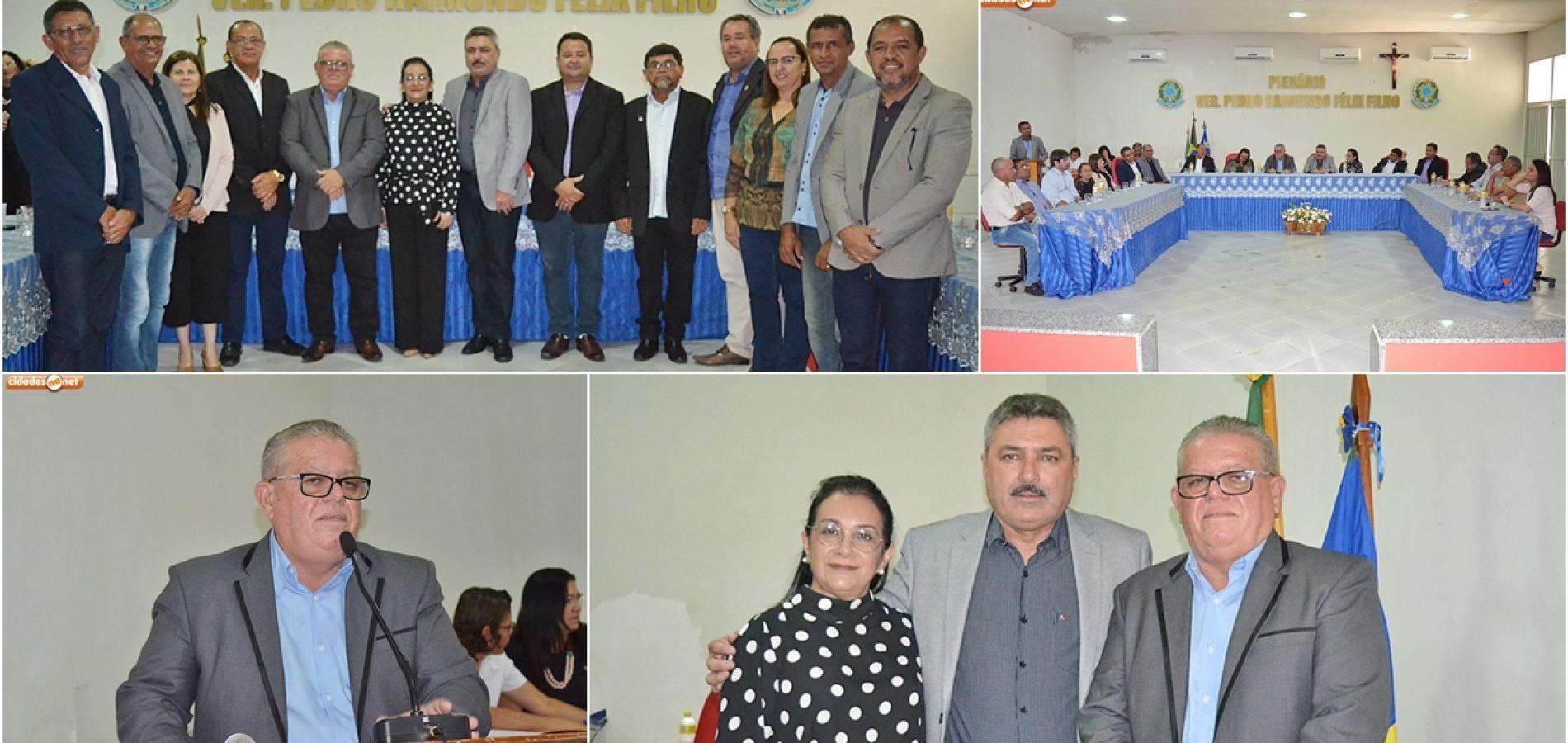 Vereador Pedro Custódio assume a Presidência da Câmara de Simões; Veja fotos