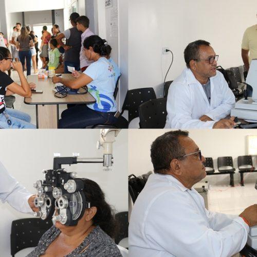 Semana da Atenção à Saúde Visual é realizada em Geminiano e atende 500 pessoas