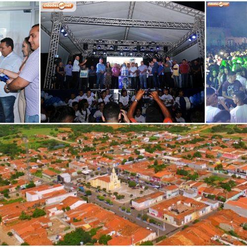 Caridade do Piauí comemora 24 anos de emancipação com competições esportivas, inaugurações e festas