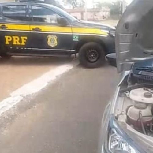 ALEGRETE | PRF recupera veículo roubado de locadora no ano passado no Pernambuco