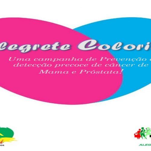 ALEGRETE | Saúde irá promover campanha 'Alegrete Colorido' em prevenção ao câncer de mama e de próstata