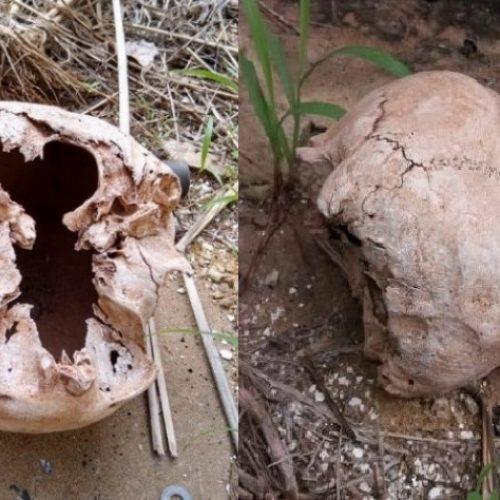 Após incêndio, crânio é encontrado na antiga delegacia de Picos