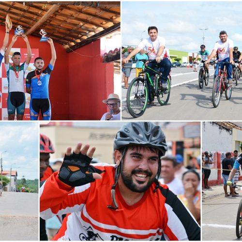 Prova de ciclismo reúne competidores de 3 estados e 17 cidades e abre as comemorações aos 56 anos de Padre Marcos
