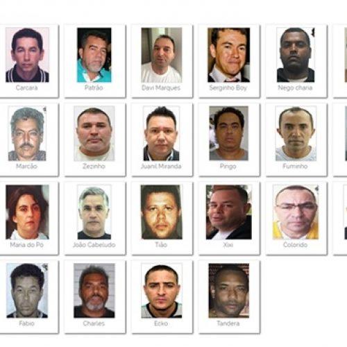Sérgio Moro divulga lista dos criminosos mais procurados do Brasil