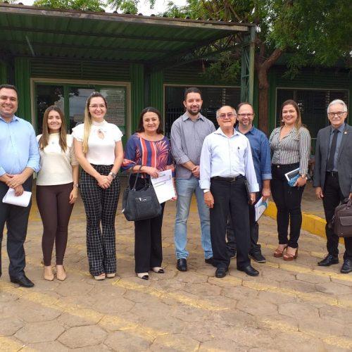 PICOS   Hospital Regional Justino Luz recebe visita do CRM