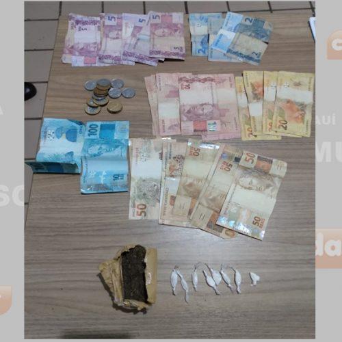 SIMÕES | Duas mulheres são conduzidas suspeitas de envolvimento com o tráfico de drogas