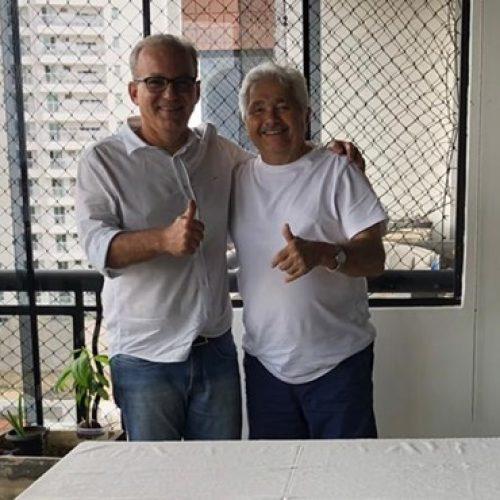 Em encontro com Firmino, Elmano confirma apoio ao candidato do PSDB