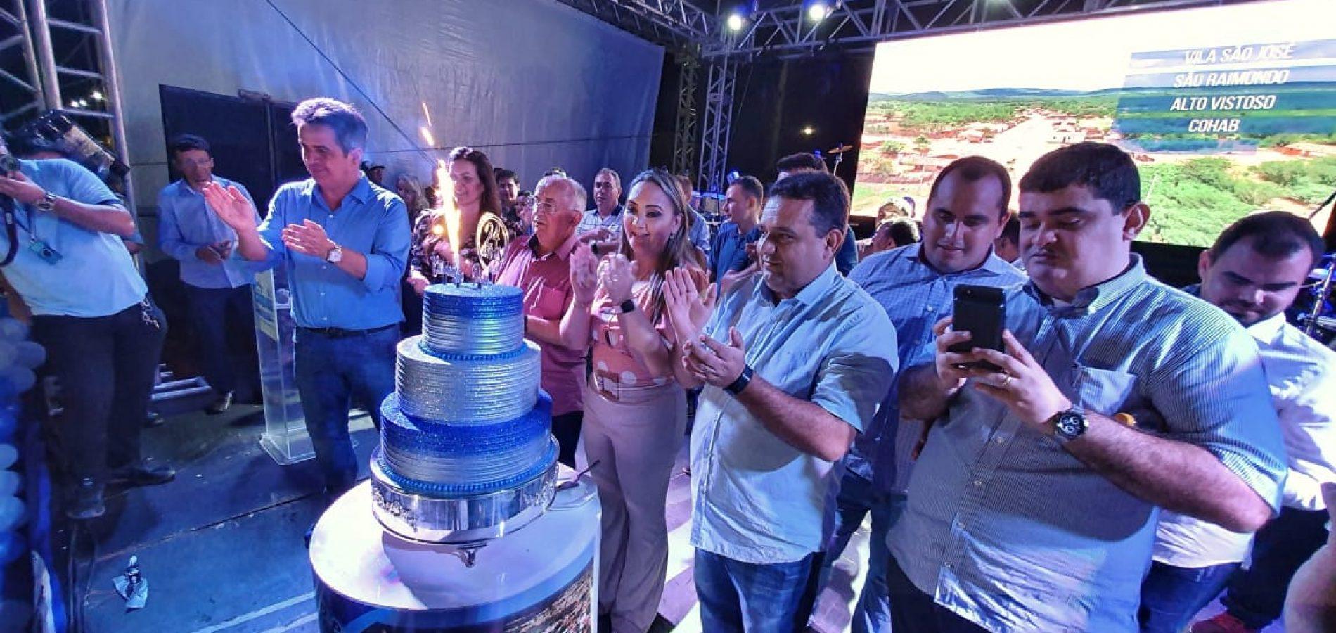 CARIDADE 24 ANOS   Veja fotos das inaugurações, corte do bolo, recepção e da festa do aniversário