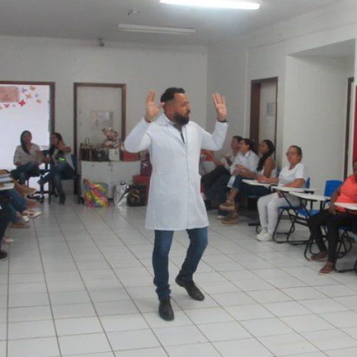 PICOS   Colaboradores do HRJL participam de palestras sobre Saúde Mental