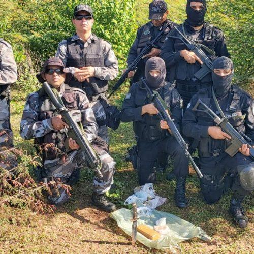PM de Picos divulga balanço da primeira fase da Operação Vale do Guaribas