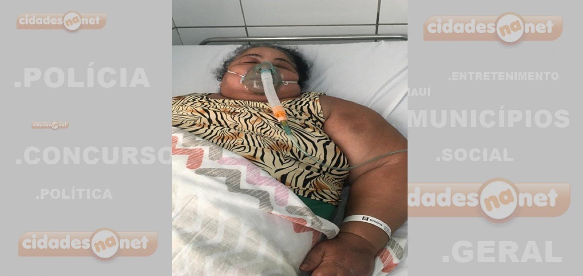 Família chega a registrar BO para paciente ser atendida em hospital no Piauí