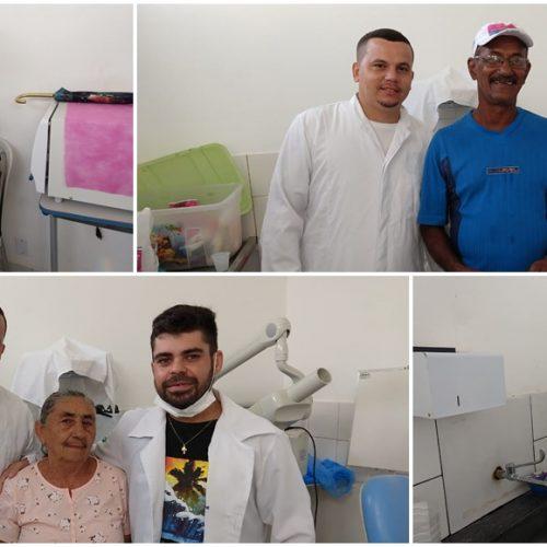 FRANCISCO MACEDO | Saúde realiza atendimentos odontológicos e entrega de próteses dentárias