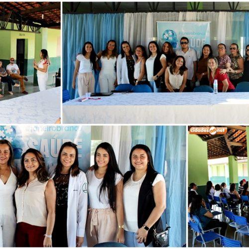 ALAGOINHA | Saúde, Educação e Assistência Social realizam palestra alusiva ao 'Janeiro Branco'