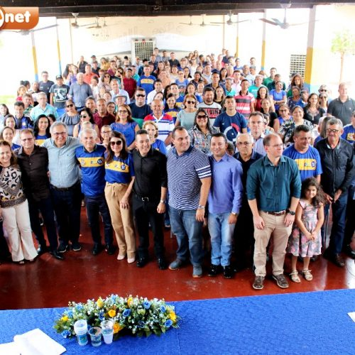 PSD de Monsenhor Hipólito realiza evento de filiação e Dr. Zenon lança pré-candidatura a prefeito pela sigla; fotos