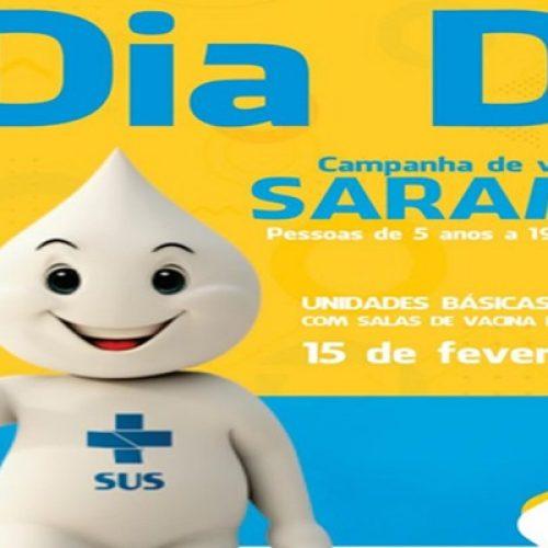 PICOS | Dia D de Vacinação Contra o Sarampo acontece neste sábado (15)