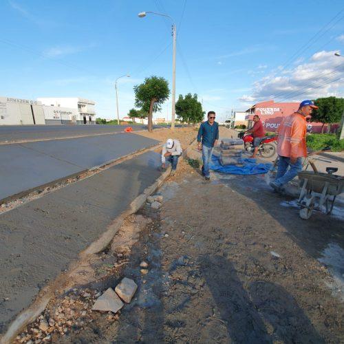 CAMPO GRANDE | Prefeito Baiá acompanha obras e afirma que já fez mais nessa gestão do que nas anteriores