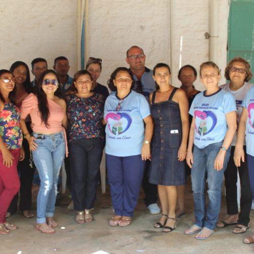 PICOS   Profissionais do Abrigo Joaquim Monteiro de Carvalho recebem capacitação sobre saúde do Idoso
