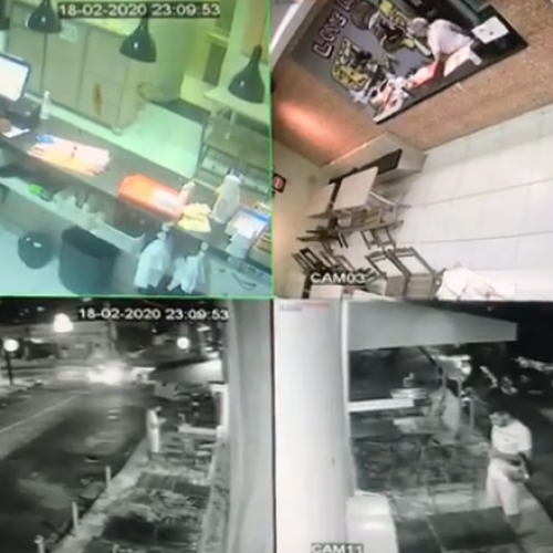 Jovem faz pedido de lanche e assalta hamburgueria no Piauí