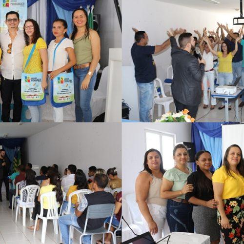 Palestra com renomado professor Dyego Feitosa abre a Jornada Pedagógica em Vera Mendes