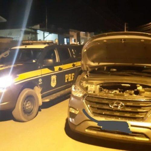 PICOS | PRF prende condutor e recupera veículo de luxo tomado em assalto no Rio Grande do Norte