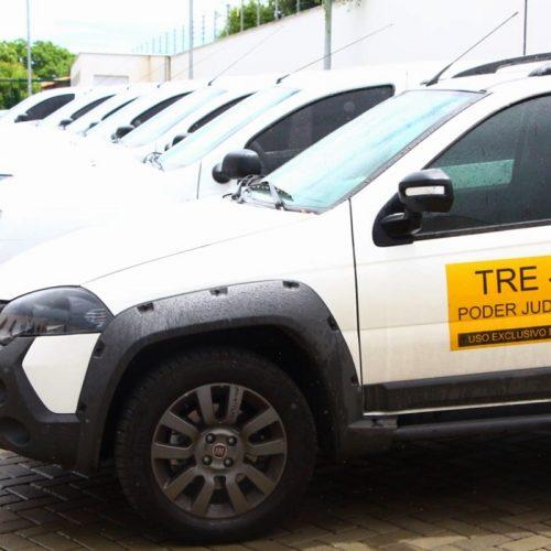 TRE-PI recebe 12 veículos para municípios sem cartório eleitoral
