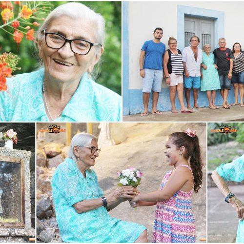 Do interior de Campo Grande do PI, o Clicks do Mês traz a história da bondosa e de grande coração, Dona Geni; Veja!