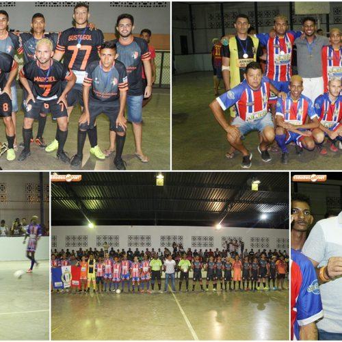 JAICÓS 186 ANOS | Com vitória de virada sobre o Bahia, Serranópolis conquista título do Campeonato de Futsal; fotos!