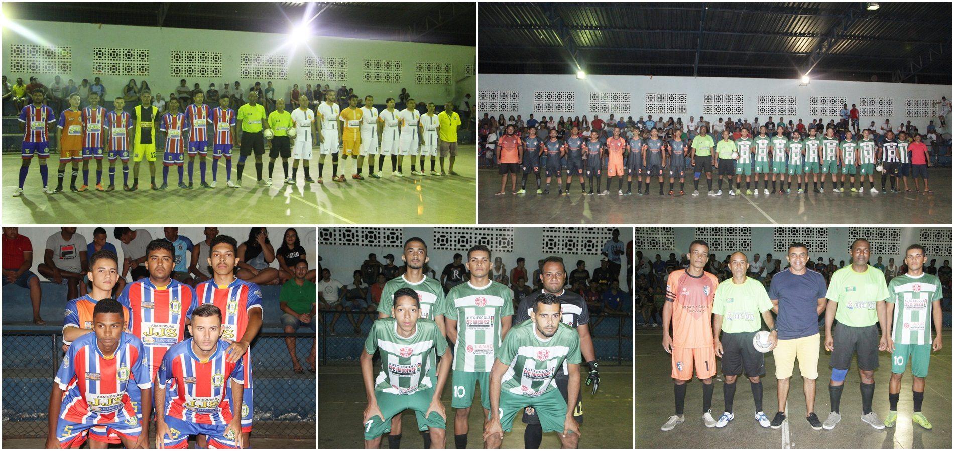 JAICÓS | Bahia goleia Bonsucesso e Esporte Bet vence o Serranópolis na abertura do Torneio de Futsal; veja fotos!