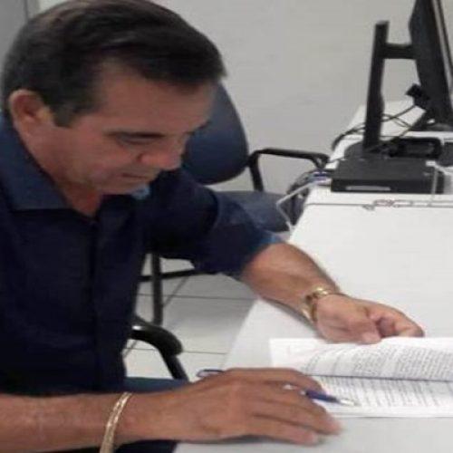 Prefeitura de Geminiano e Funasa celebram convênio para construção de banheiros