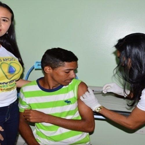 Saúde de Vera Mendes realiza Dia 'D' de vacinação contra Sarampo