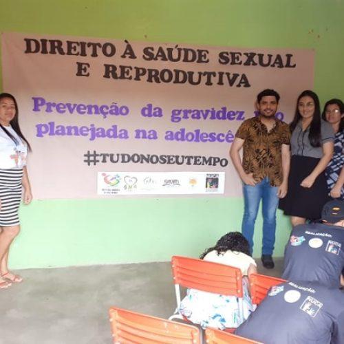 Secretarias municipais e NUCA realizam encontro sobre gravidez na adolescência em Vera Mendes