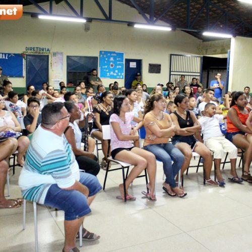 Mais de sessenta pessoas participam de reunião do projeto Pelotão Mirim em Bocaina