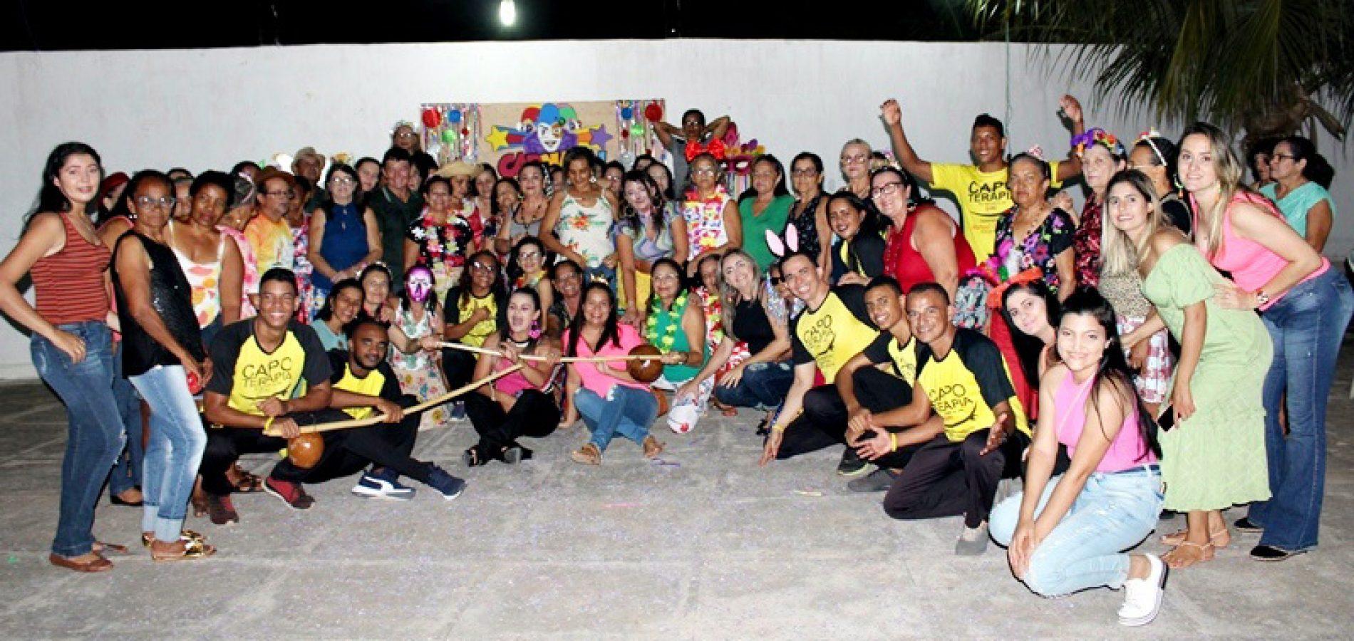 ALAGOINHA   Saúde realiza encontro festivo com o grupo Viver Bem em ritmo de carnaval