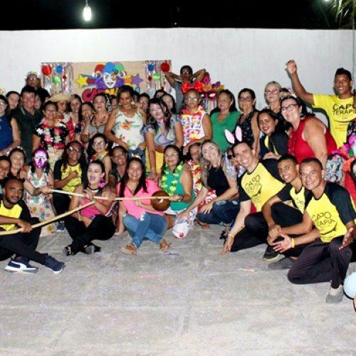ALAGOINHA | Saúde realiza encontro festivo com o grupo Viver Bem em ritmo de carnaval