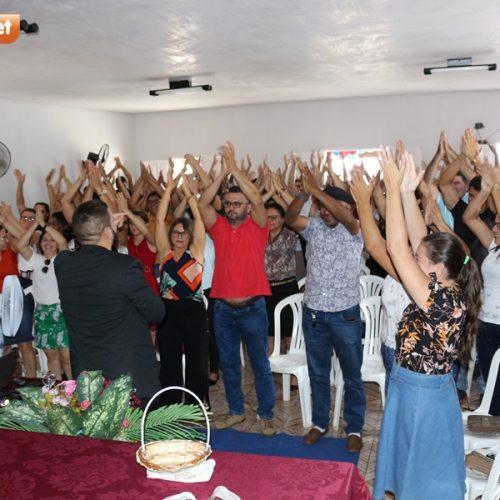 Jornada Pedagógica é aberta em Jacobina do Piauí com palestra do professor Dyego Feitosa