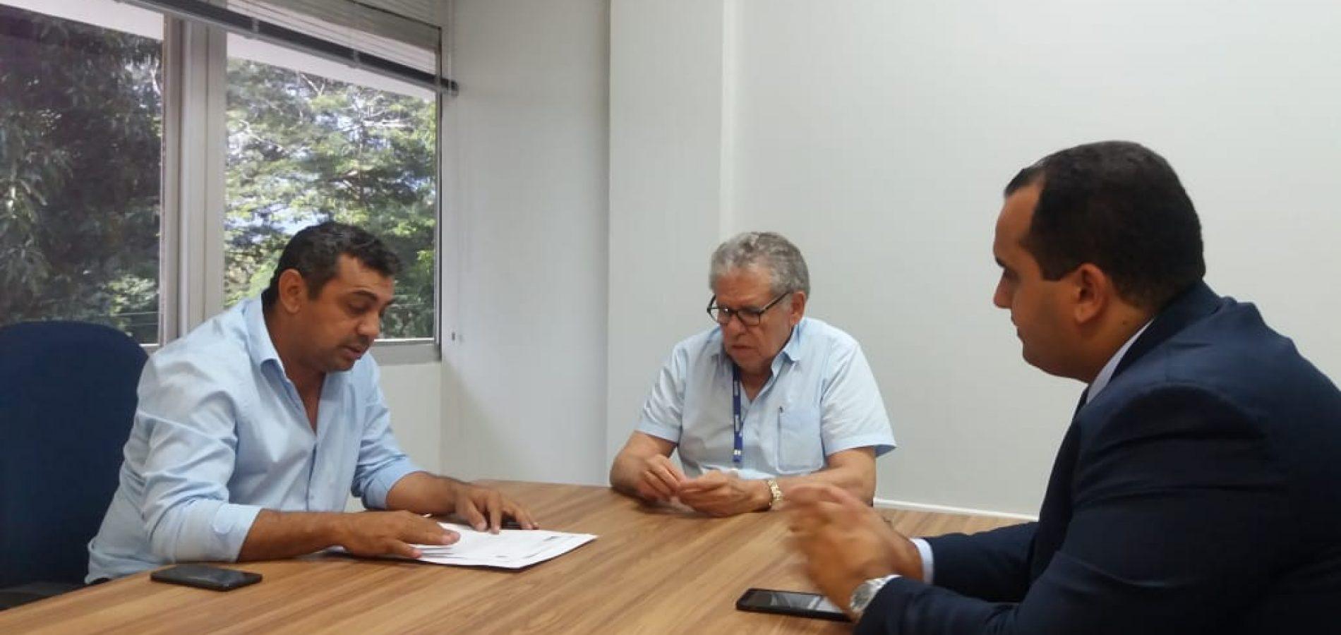 Após muitas reivindicações, prefeito de Jaicós comemora retomada das obras do 'Luz para Todos'