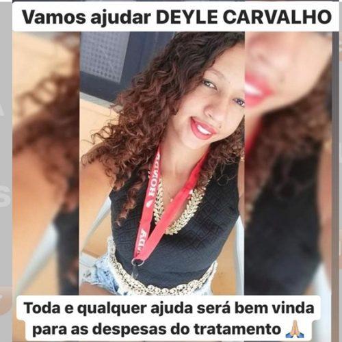 Família faz campanha para jovem que sofreu grave acidente na estrada de Alagoinha. Ajude!