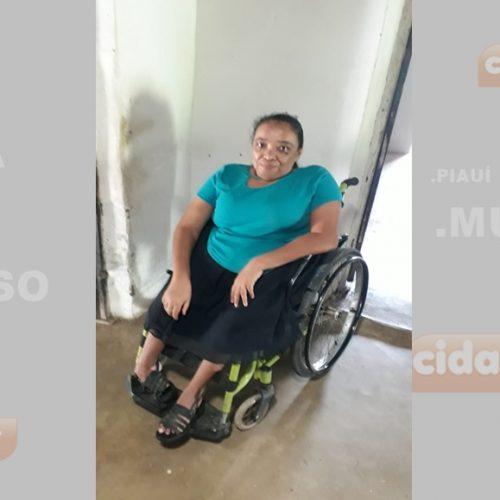 Moradora do povoado Retiro em Francisco Macedo necessita de cadeira de rodas. Saiba como ajudar!