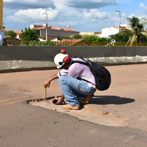 Prefeitura inicia supervisão da ponte que liga o bairro Centro ao Boa Sorte em Picos