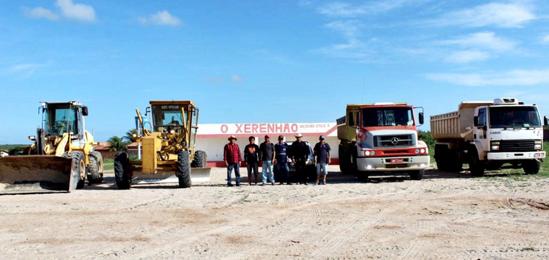 Prefeitura de Alegrete do Piauí inicia construção de Estádio 'O Xerenhão'